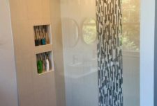 Frameless Custom Glass Shower Door