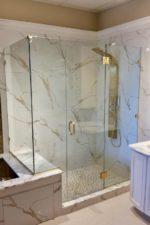 Frameless Custom Glass Shower Door