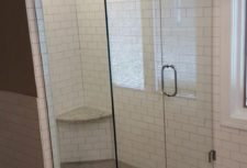 Bryn Mawr Glass Custom Frameless Shower Stall