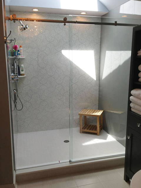 Glass Sliding Shower Door