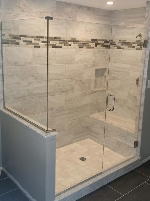 Bryn Mawr Glass Custom Glass Shower Enclosure