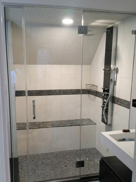 Custom Glass Shower Doors Bryn Mawr Glass Amp Mirror
