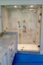 Glass shower enclosure update