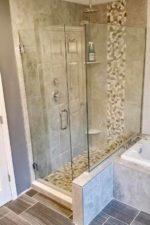 Corner Glass Shower Enclosure by Bryn Mawr Glass