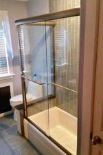 Frameless Glass Shower Door by Bryn Mawr Glass